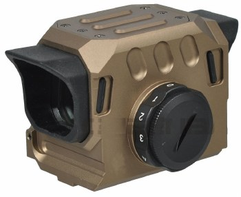 Sotac Square Style Red Dot Sight in Tan