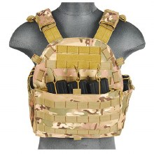 1000D Molle Tactical Vest in Camo