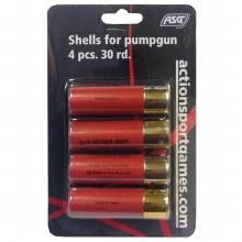 ASG 30rd. Shotgun Shells - 4 Pack