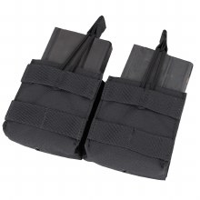 BLK Double Open Top M14 Mag Pouch