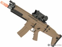 FN Scar-L AEG in Tan Competition Series