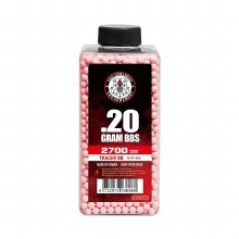 G&G .20g RED Tracer BBs - 2700ct.