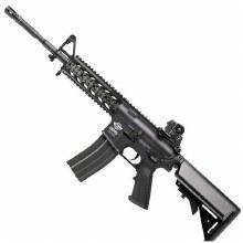 G&G CM16 Raider-L in Black (HV-Combo)