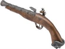 HFC Flintlock Pirate CO2 Pistol (Silver)
