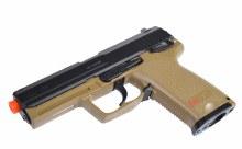 HK USP Co2 - Tan/Black