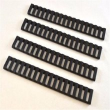 Ladder Rail Covers (4 Pack) in Black
