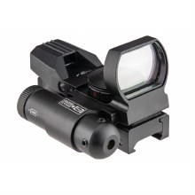 Lancer Tactical 4-Reticle Red/Green Dot
