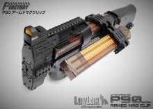 Laylax Armed Mag Clamp for Airsoft P90