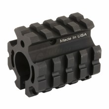 Leapers Deluxe Quad-Rail Gas Block