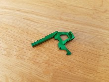 Retro Arms CNC Charging Handle - Green
