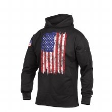 Rothco US Flag Concealed Carry Hoodie- L