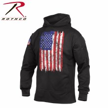 Rothco US Flag Concealed Carry Hoodie-XX