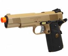 Socom Gear Full Metal M1911 GBB in Tan