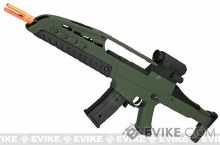 SRC SM8 w/ 2 Mags in Green