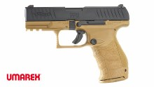 Walther PPQ GBB - Tan/Black