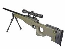 Well MB01 L96 Sniper Rifle w/ Scope & Bi-Pod in OD