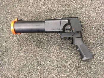 Used S-Thunder Double Barrel Grenade Lau