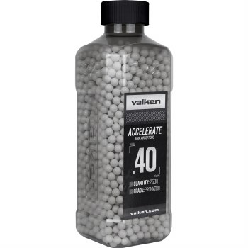 Valken .40g Accelerate BBs - 2500rds