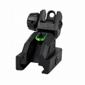 Valken Folding Rear Sight-Black/Neon