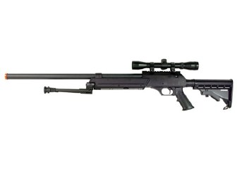 WELL MB-06 w/ Bi-Pod & Scope - Black