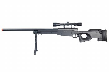 Well MB01 L96 Sniper Rifle w/ Scope & Bi-Pod in Black