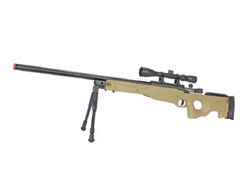 WELL MB01 Sniper Rifle Package in TAN