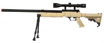 WELL MB06 Sniper Rifle Package in Tan