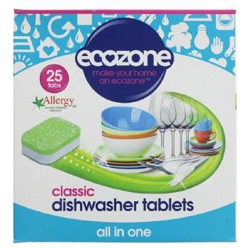 Ecozone Dishwasher Tablets 25 Tabs