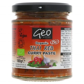 Geo Og Thai Red Curry Paste