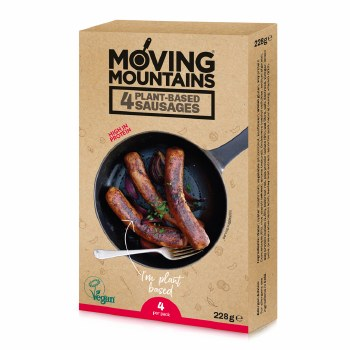 Plant Based Sausages
