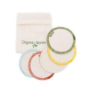 Organic Makeup Pads x5