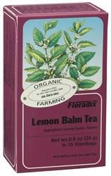 Lemon Balm Organic Herbal Tea 15bag