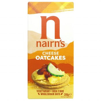 Nairns Cheese Oatcakes 200g