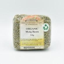 Mung Beans Dry Org 500g
