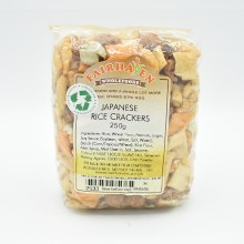 Japanese Rice Crackers 250g