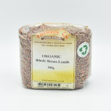 Lentils Brown Org 500g