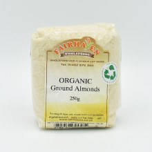 Almonds Ground Org 250g
