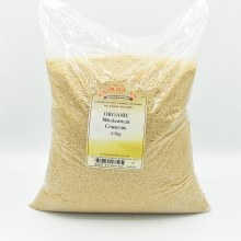 Couscous Wholewheat Org 2500g