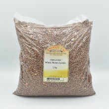 Lentils Brown Org 2500g