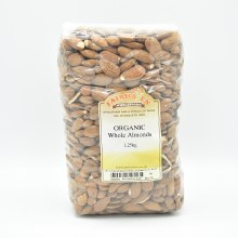 Almonds Whole Org 1250g