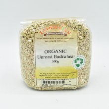 Buckwheat Unroasted Org 500g