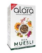 Alara Og Rich Muesli 6 X 500g
