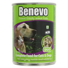 Benevo Duo Tinned Dog Cat Food