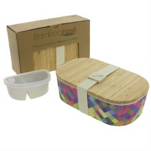 Bamboo Lunchbox All The Colour