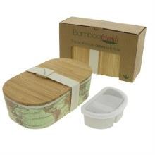 Bamboo Lunchbox World Map