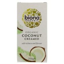 Biona Organic Creamed Coconut