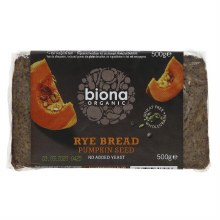Biona Og Rye Bread Pumpkinseed