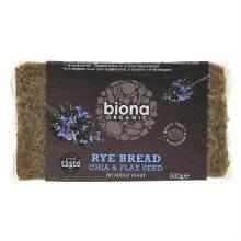 Biona Org Rye Chia Flax Bread