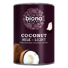 Biona Og Light Coconut Milk