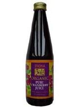 Biona Pure Cranberry Juice Og